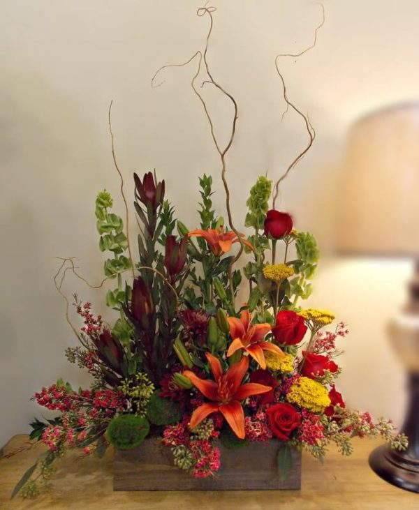 Begin Again Funeral Flowers