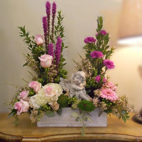 Heartbroken Funeral Flowers