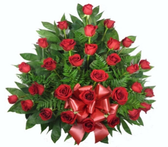 Signature Traditional Rose Spray Funeral Flowers